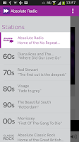 Screenshot of Absolute Radio 90s