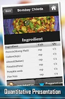 Screenshot of 101 Recipes North Indian Foods