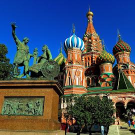 Собор Василия Блаженного by Georgiana . - Buildings & Architecture Places of Worship