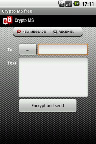 Encrypted sms - Crypto MS free