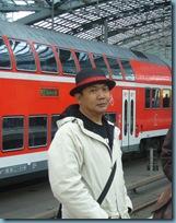 Me in Barcelona train station
