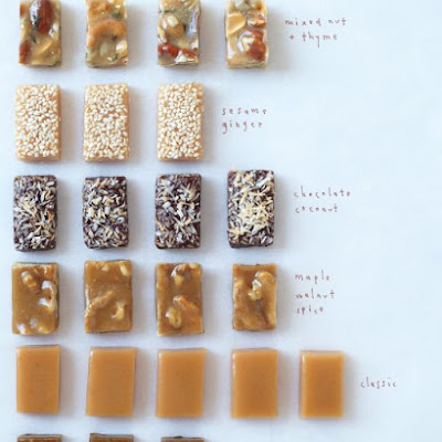 Mixed Nut and Thyme Caramel Candies