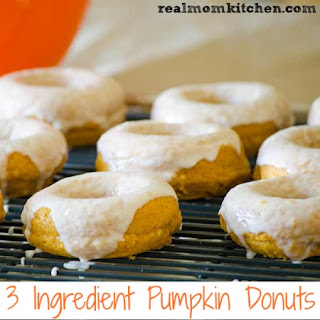 3 Ingredient Pumpkin Donuts