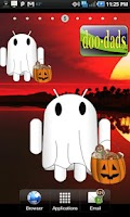 Screenshot of Trick or Treat Droid