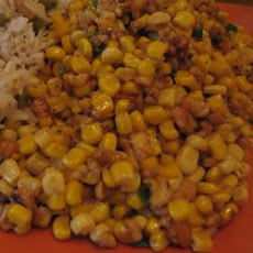 Sweet Corn Subji With Paneer and Cashew Nuts