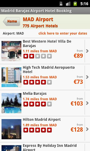 Hotels Near Madrid Airport