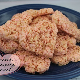 Heart Krispie Treats