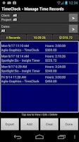 Screenshot of TimeClock Pro - Time Tracker