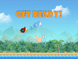 Screenshot of Flap the Little Bird Wings
