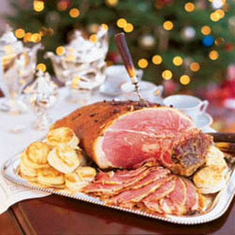 pecan bourbon and cane syrup ham recipes dishmaps and cane syrup ham ...