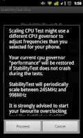 Screenshot of StabilityTest (ROOT optional)