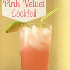 Pink Velvet Cocktail