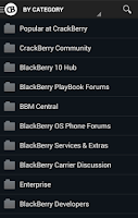 Screenshot of CrackBerry — The App!