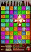 Screenshot of Gems Maze: Christmas Adventure