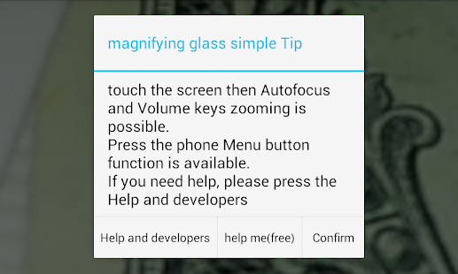 App Magnifier [Magnifying Glass] APK for Kindle