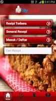 Screenshot of My Resipi