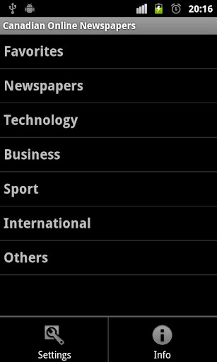 Canadian Online Newspapers