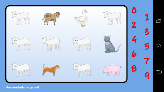 Count: Animals - screenshot