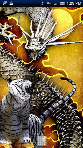 Tiger Gold Dragon