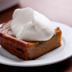 Boozy Persimmon Pudding Recipe