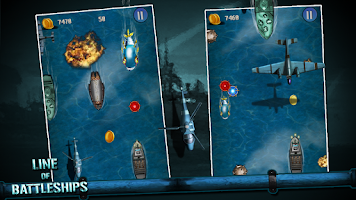 Screenshot of Line Of Battleships: Naval War