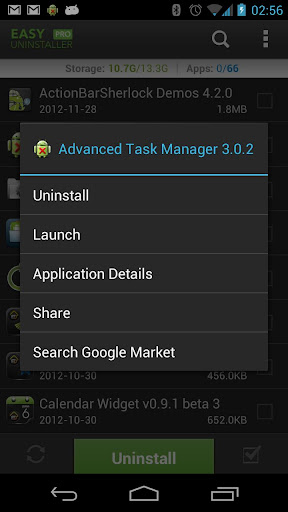 Easy Uninstaller Pro - Clean - screenshot