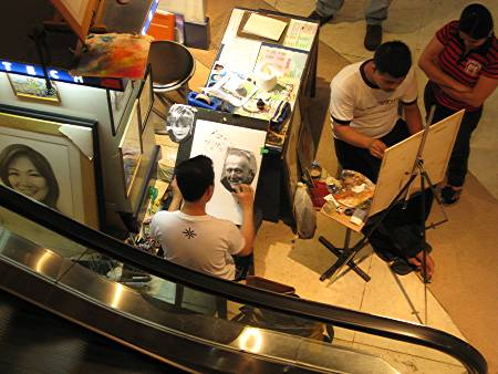 portrait and caricature artists in Greenbelt