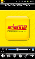 Screenshot of Alte Antenne Steiermark App