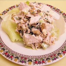 Roasted Turkey or Chicken Breast and Walnut Salad