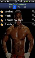 Screenshot of Mike Tyson soundboard free