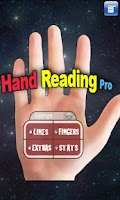 Screenshot of Hand Reading Lite