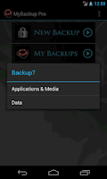 Screenshot of My Backup Pro