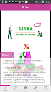 Linda pulizie - screenshot