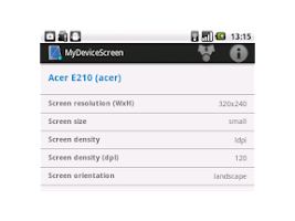 Screenshot of MyDeviceScreen