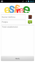 Screenshot of Bramka SMS esfree.pl
