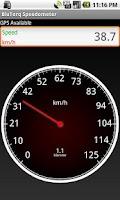 Screenshot of BluTorq Speedometer