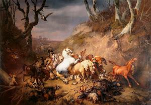 RIJKS: Eugène Joseph Verboeckhoven: painting 1836