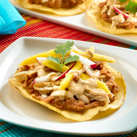 Chipotle Chicken & Mango Tostadas