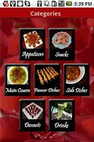 Screenshot of Shveta's Recipes
