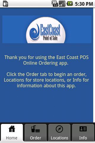 East Coast POS - Demo