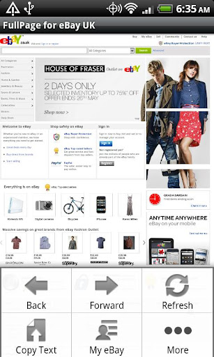 FullPage for ebay UK