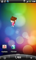 Screenshot of Battery Widget Alice Free