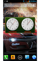 Screenshot of WorldClock Widget