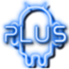 Plus Neon Blue GO Theme icon