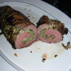 Spinach and Blue Cheese-Stuffed Flank Steak