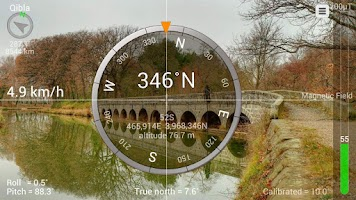 Screenshot of Smart Compass Pro