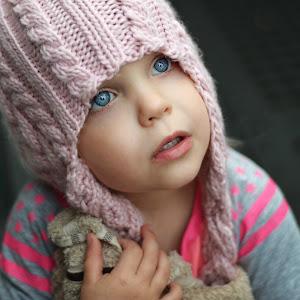 32.5 months Mia pink hatx.jpg.jpg