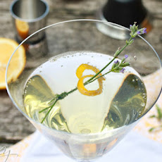 Lavender Meyer Lemon Tom Collins