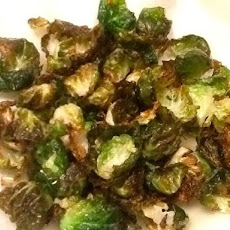 FLASH FRIED BRUSSELS SPROUTS LEAVES