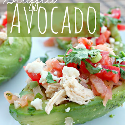 Healthy Stuffed Avocados